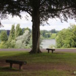 View of Blenheim Palace Park's Great Lake