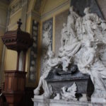 Tomb of the 1st Duke of Marlborough in Blenheim Palace Chapel