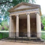 Temple of Diana at Blenheim Palace, where in 1908 Winston Churchill proposed to wife Clementine