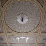 Stowe House ceiling detail